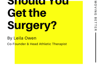 Should You Get the Surgery?
