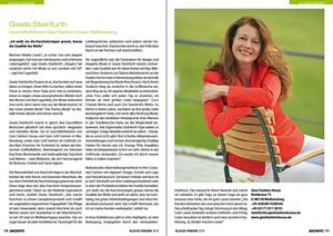 Klasse Frauen: Artikel über Gisela Steinfurth in akzente