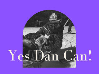 Yes Dan Can! Cerebral Palsy - Spastic Quadriplegia Won't Stop Him From Skiing.