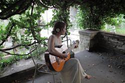 TEss in Gubbio Garden