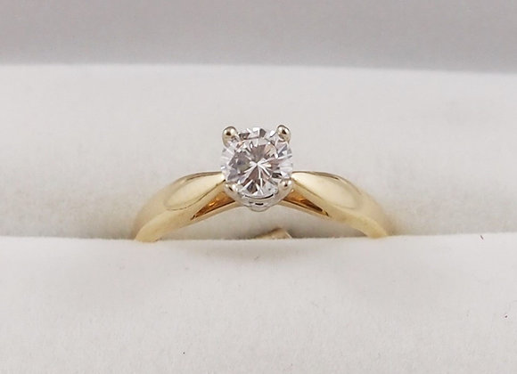 14kt 0.50ct Diamond Solitaire