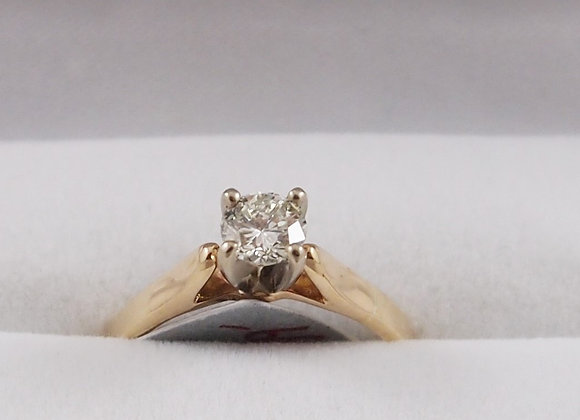 14kt 0.54ct Diamond Solitaire