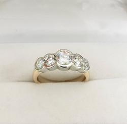 5 Stone Diamond Ring