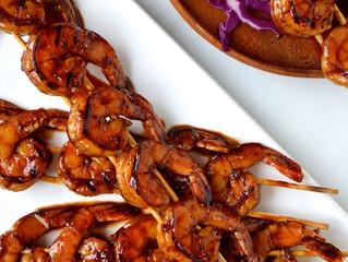 Glazed Honey Garlic Shrimp