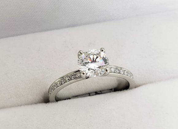 14kt Diamond Ring 1.02ct