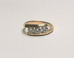 3 Diamond Custom Ring