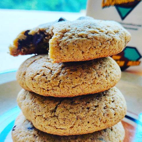 GLUTEN FREE - Cardamom Baked Chocolate Chip Cookies