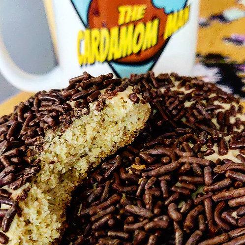 Coffee Infused Chocolate Sprinkle Cookies