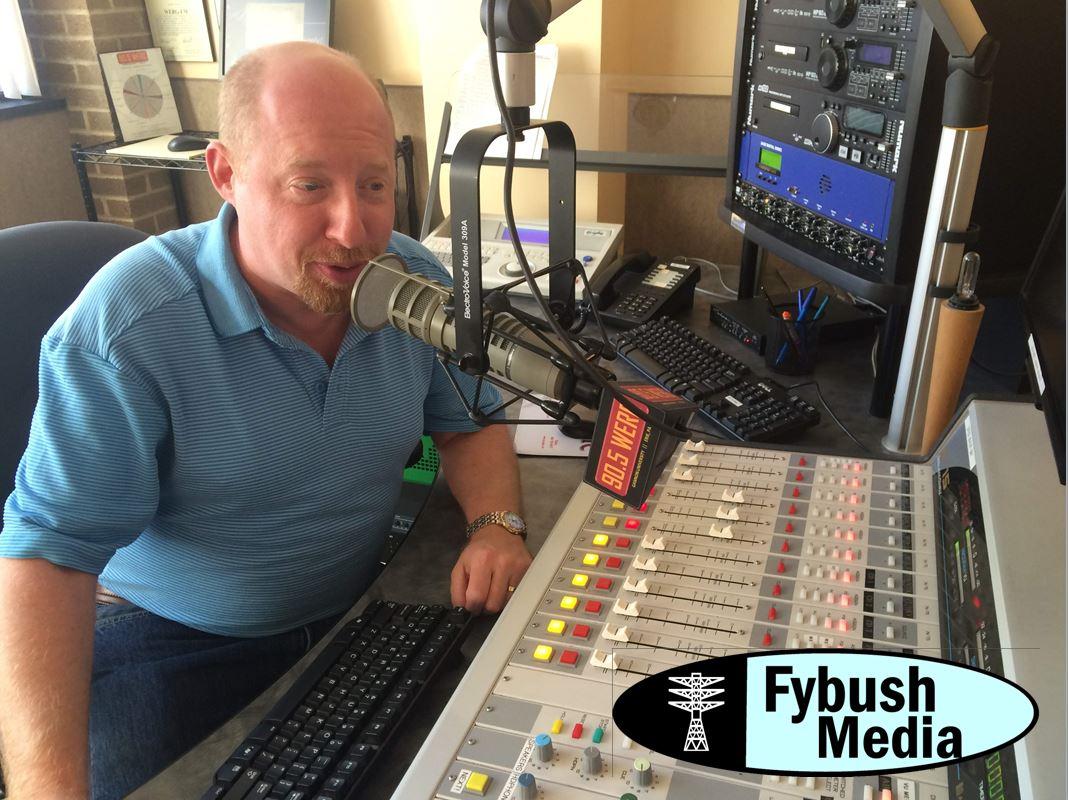 Scott Fybush visits WERG (2016)