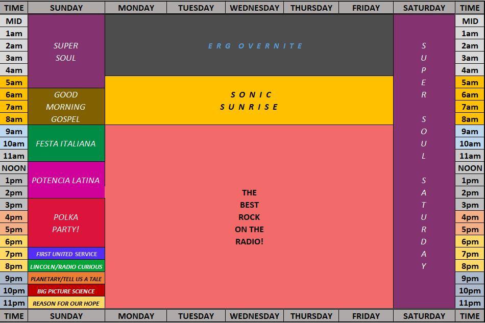 Schedule - Break - NO FAZED - Website.JP