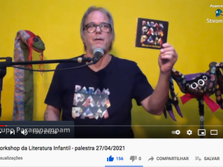 Ao vivo no Workshop de Literatura Infantil Brasil-Bolívia