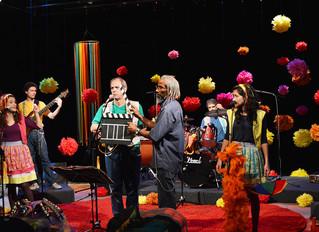 Participação no programa de tv Música Animada