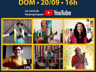 Novo espetáculo virtual: estreia 20/09