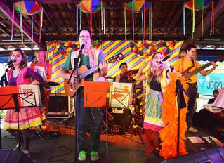 Carnaval com Parampampam no Sesc