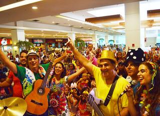 Carnaval no São Gonçalo Shopping
