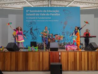 Apresentação no 8º Seminário de Educação Infantil do Vale do Paraíba