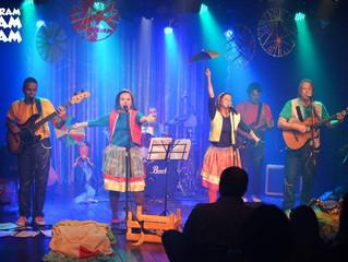 Show de lançamento do CD no Leblon foi marcado por surpresas