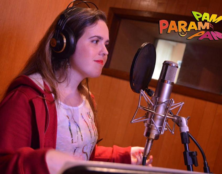 Vera Polverelli grava voz