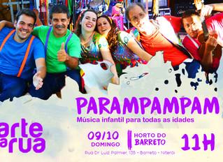 Show gratuito em Niterói
