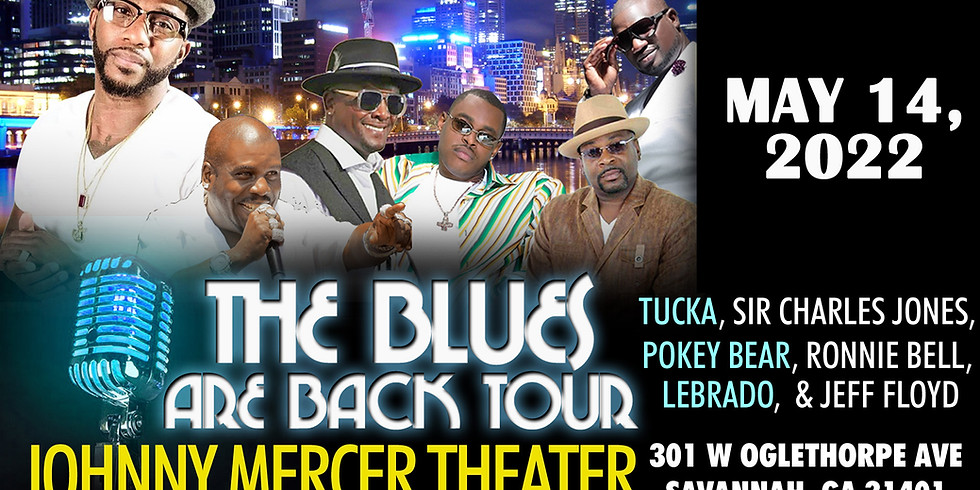 The Blues Are Back Tour - RESCHEDULED*