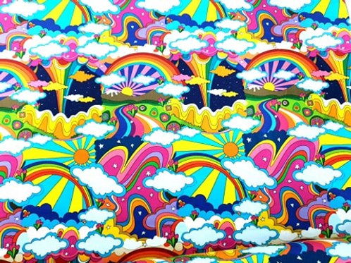 Colourful Woodstock - last piece 86cm
