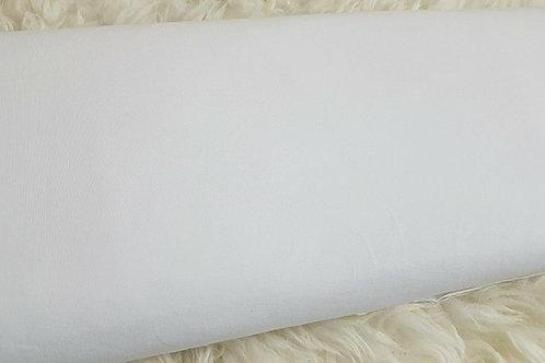 White plain jersey