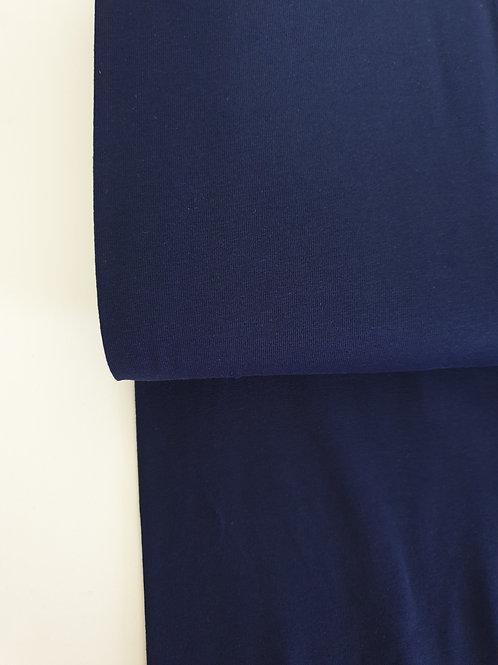 Navy blue plain jersey