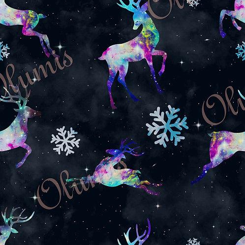 Reindeer stag nebula galaxy