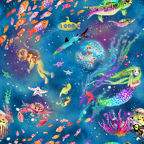Underwater fantasy (swim fabric)