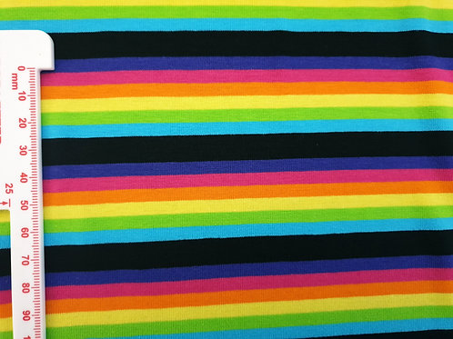 Mini bolt (5 metres) - Mini rainbow stripes