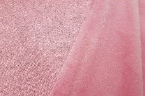 Baby pink sweatshirt/Alpenfleece (brushed inside)