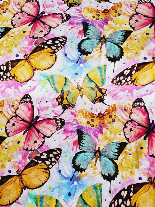 Sweet colourful butterflies