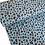 Thumbnail: Light blue animal print - last piece 90cm