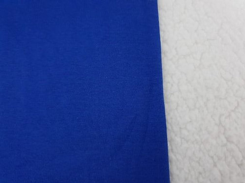 Cobalt blue mini tubular ribbing