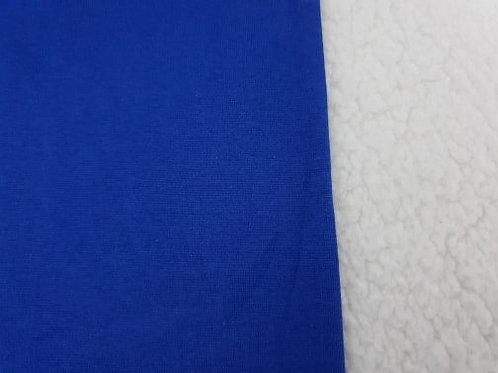 Cobalt blue mini tubular ribbing
