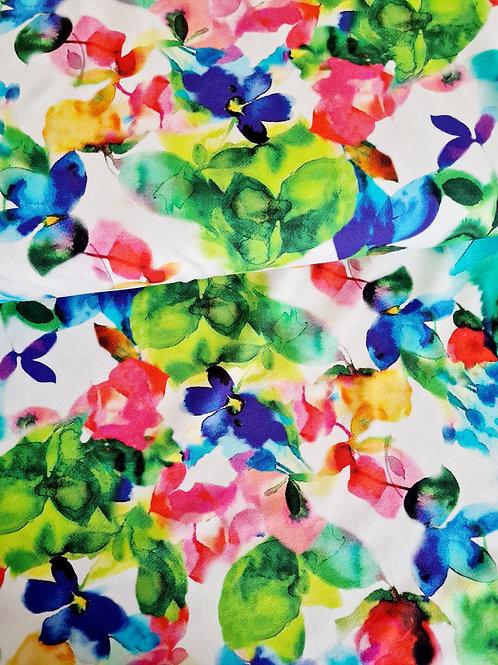 Watercolour spring summer florals