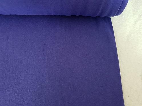 Violet cotton lycra rib