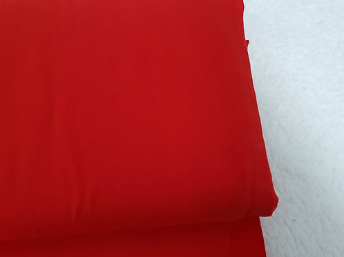 Red plain jersey