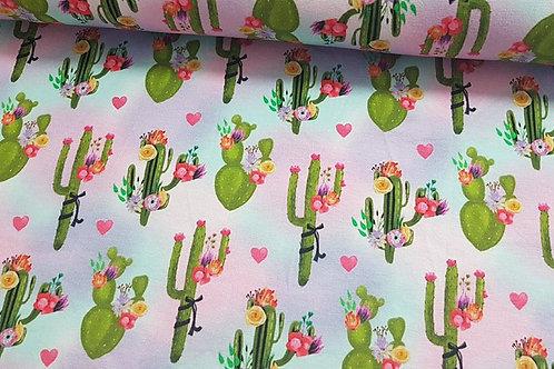 Little floral love cacti