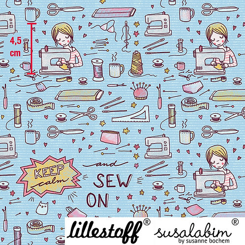 Lillestoff Sew On (light blue)
