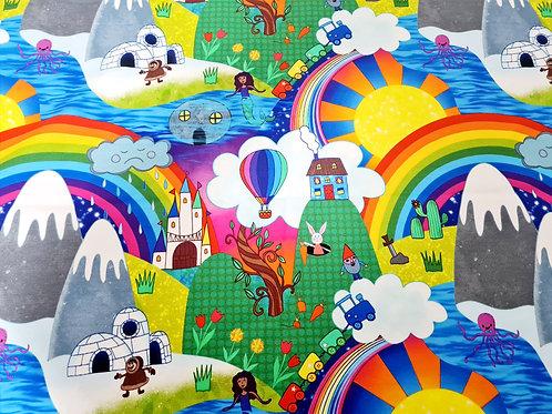 Magical Happyland (Cotton Lycra)