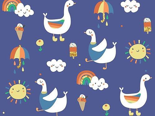 Duck & Summer (blue)
