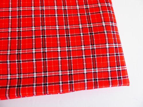 Classy tartan red/black