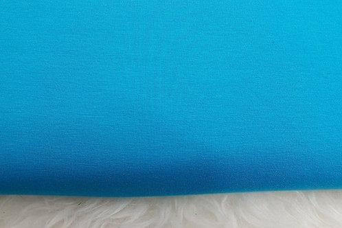 Turquoise plain jersey