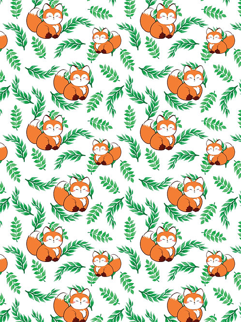 Cute chubby fox