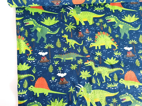 Dinoland in navy/green