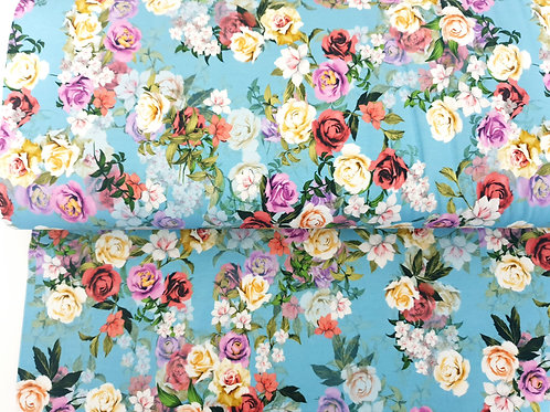 Marvelous sweet roses - last piece 1 metre