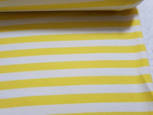 Yellow & White stripes
