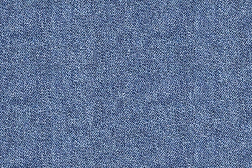 Jeans look in blue (French Terry) - last piece 120cm