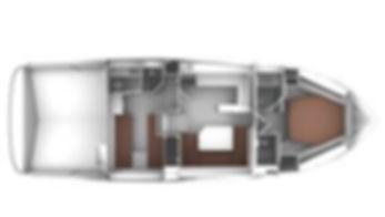 BAVARIA SPORT 450 Layout 2 cabine